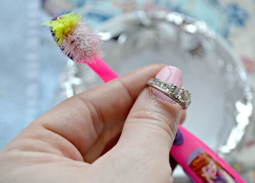 Cleaning your vintage style ring