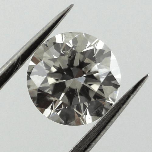 Fancy light gray diamond