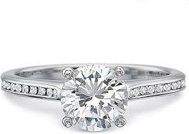 Channel Setting with Round Diamonds